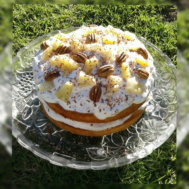 Pineapple Fresh Cream Sponge