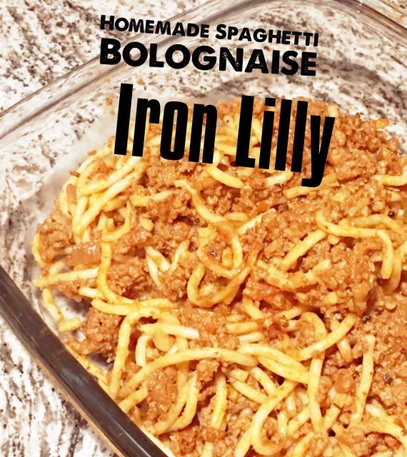 Homemade Spaghetti Bolognaise (easy Peasy)