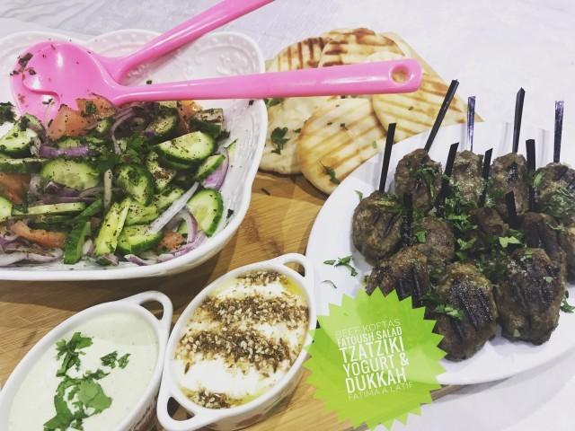 Beef Koftas & Fattoush Salad