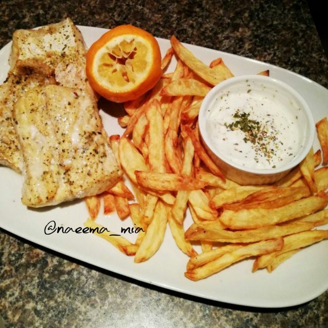 Grilled Kingklip And Fries