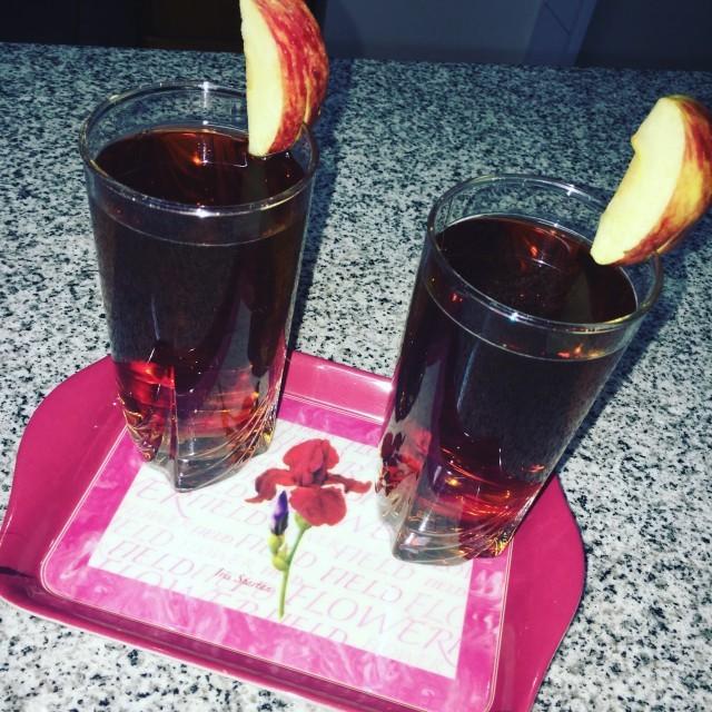 Apple Ice Tea🍎☕️🍎☕️🍎☕️