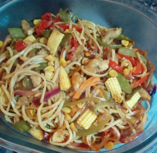 Veg & Noodle Stirfry