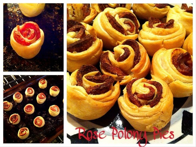 Rose Polony Pies
