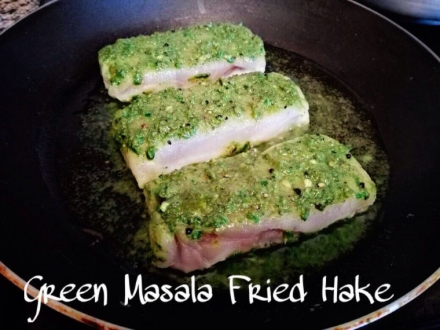 Green Masala Fried Hake