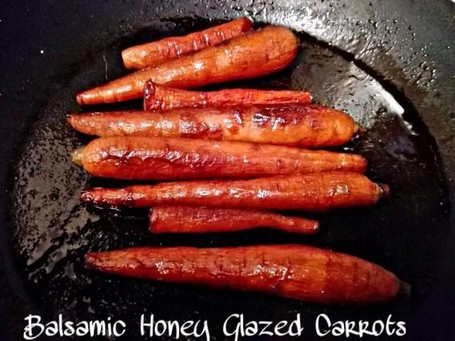 Balsamic Honey Glazed Carrots