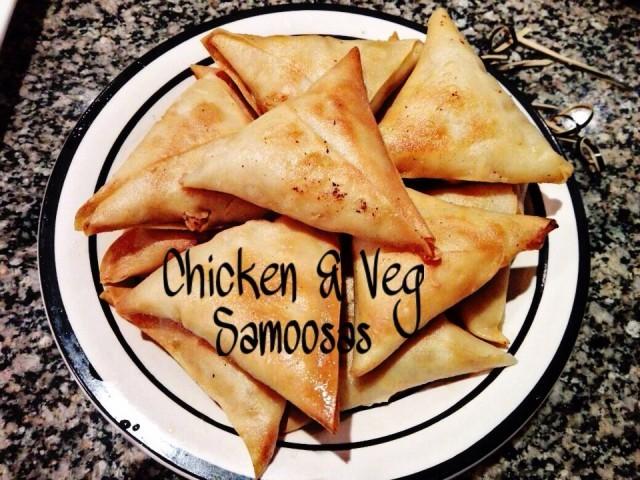 Chicken & Veg Samoosas