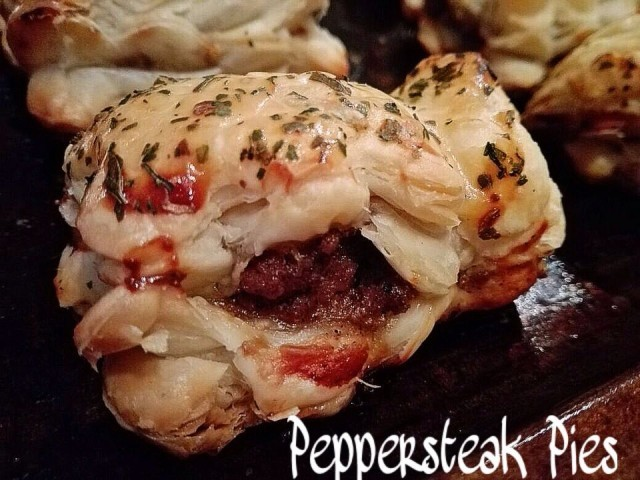Pepper Steak Pies