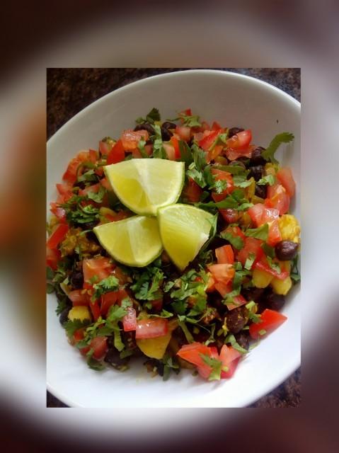 Spiced Kala Chana