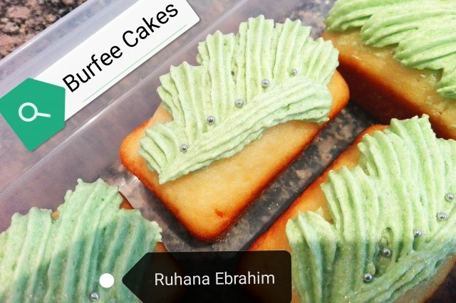 Burfee Cakes
