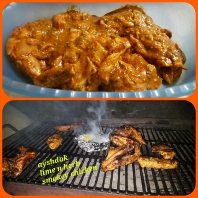 Smokey Lime N Herb Chicken