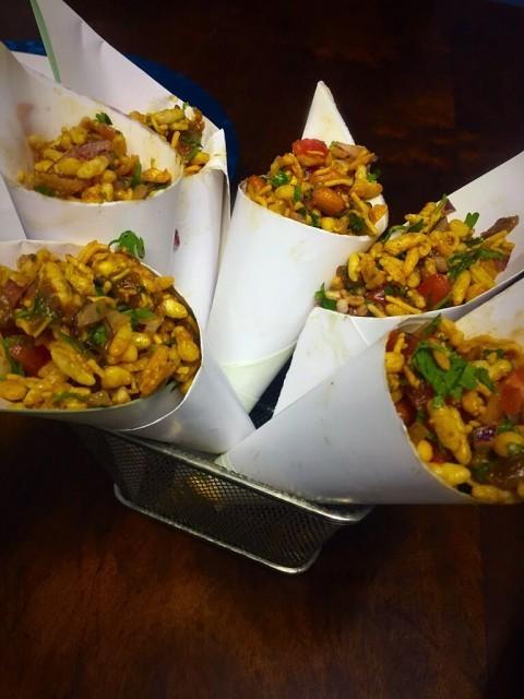 Mumbai  Bhel Puri / Indian Street Foods