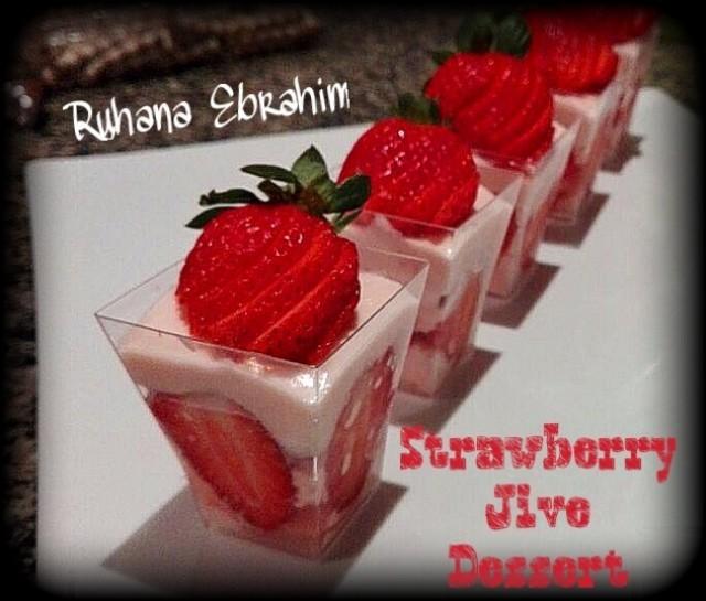 Strawberry Jive Dessert