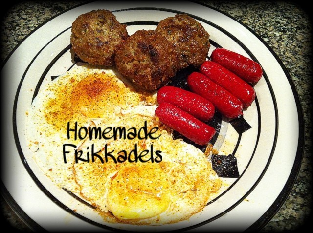 Homemade Frikkadels