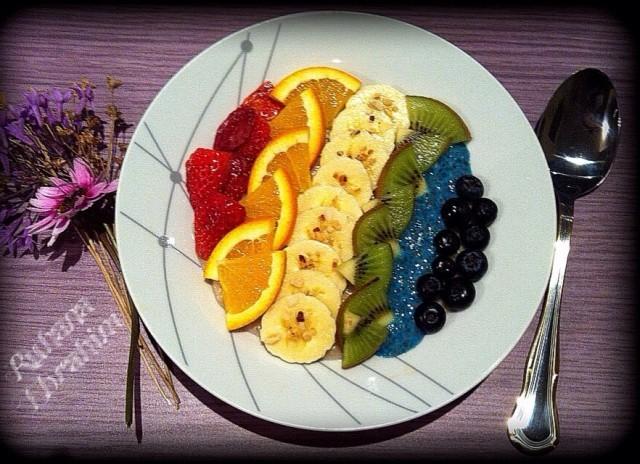 Rainbow Fruit Salad Oats