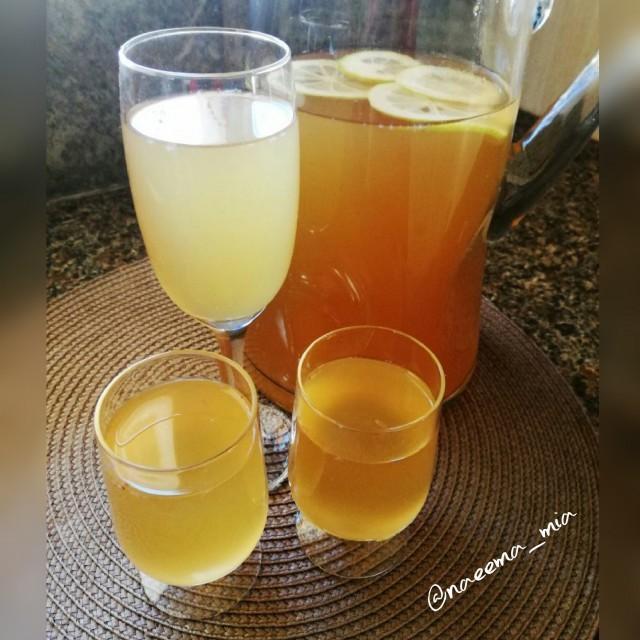 Lemon Ginger Iced Tea