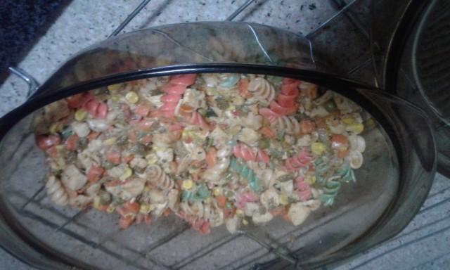 Chicken Tri-colour Pasta