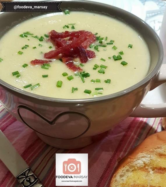 French Leek And Potato Soup Aka Vichyssoise