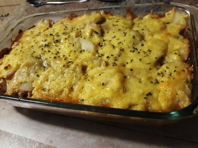 My Easy Peasy Potato Bake