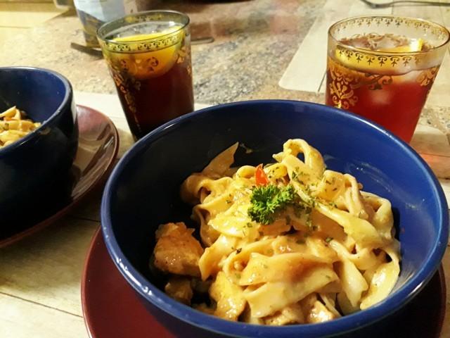 Chicken Tagliatelle Pasta (my Recipe)