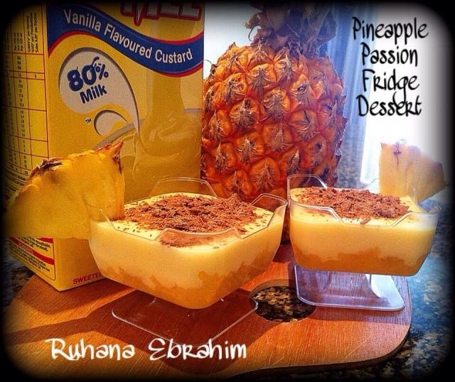 Pineapple Passion Fridge Dessert