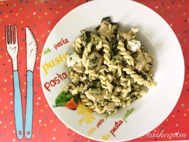 Spinach  And Feta Pasta