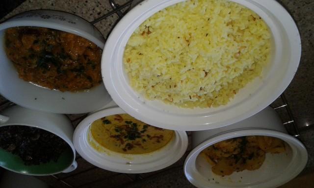 Khuri Kitchri Memoni Style Within Side Dishes