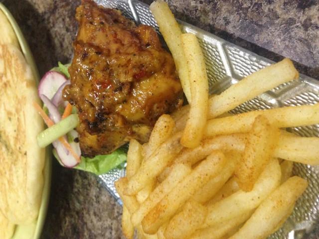 Mozambique Grilled Chicken
