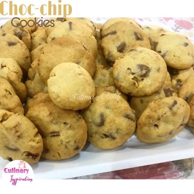 Dairy Milk Choc Chip Cookies