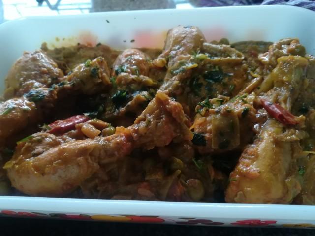 Chicken Drumsticks & Greenbean Curry