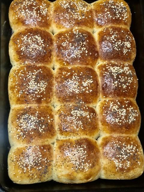 Tangzhong Milk Bread Rolls