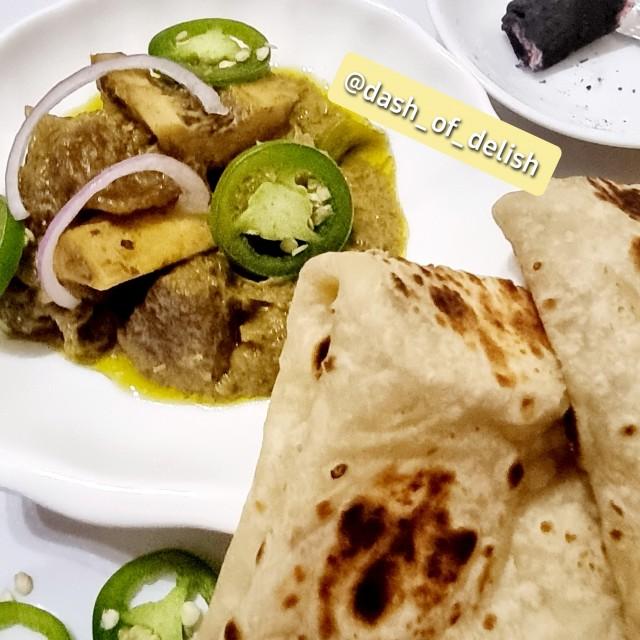 Smoked Afghani Mutton