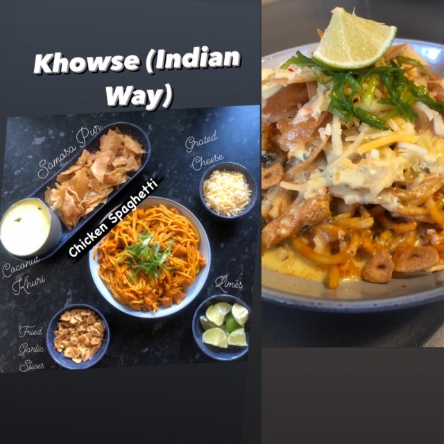 Khowse (indian Way)