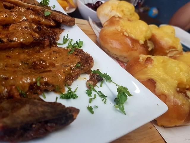 Masala Saucy T-bone / My Recipe