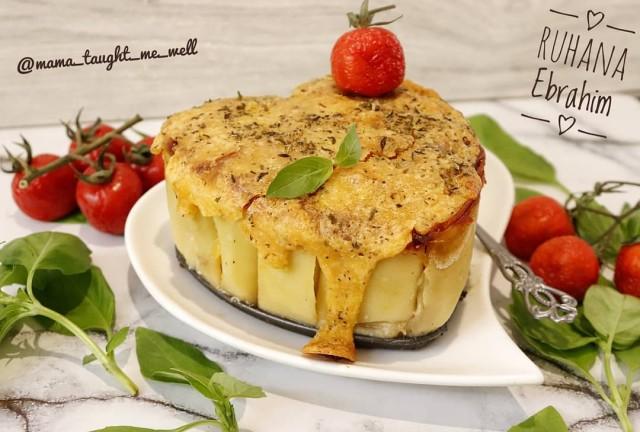 Chicken Mushroom Cannelloni Pasta