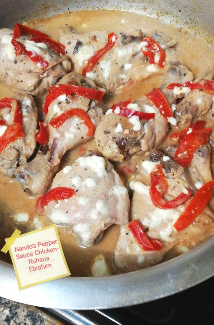 Nando's Pepper Sauce Chicken