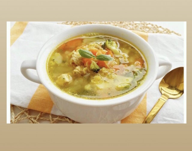 Ginger Soup (for Huwawar And Flu)