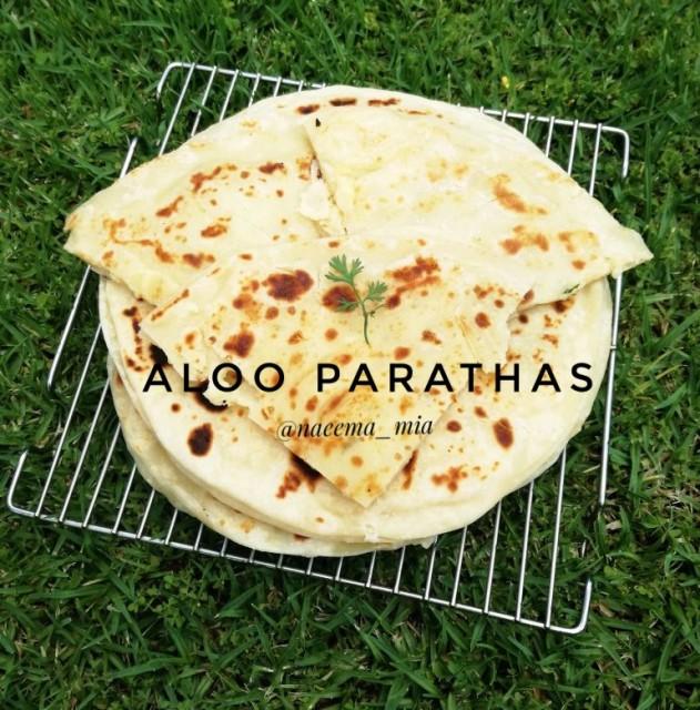 Aloo Parathas