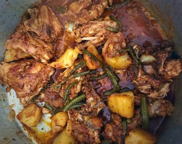 Chicken Green Bean Curry