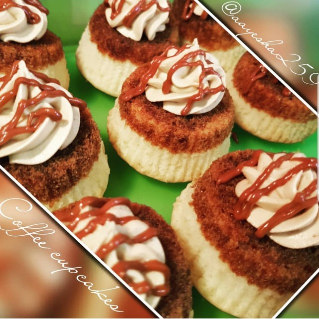 Coffee Soaked Cuppies
