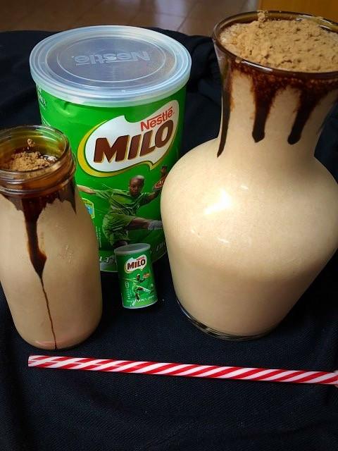 Thick Milo Milkshake 🥤🥤🥤