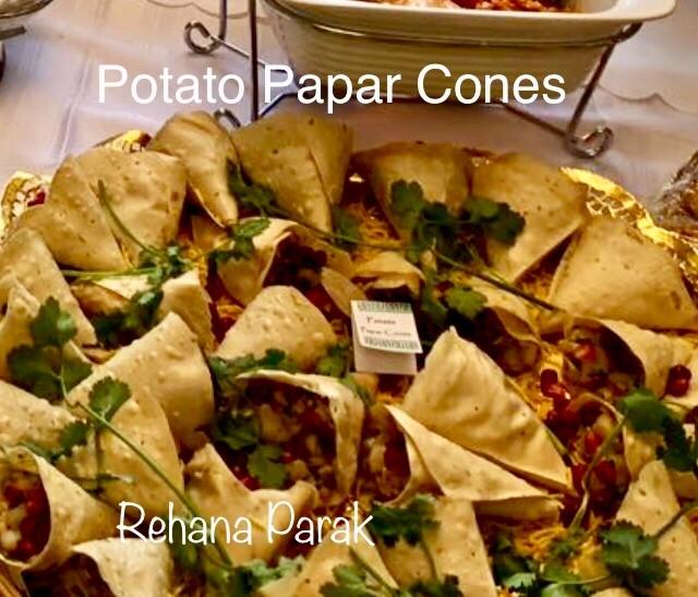 Potato Papar Cones