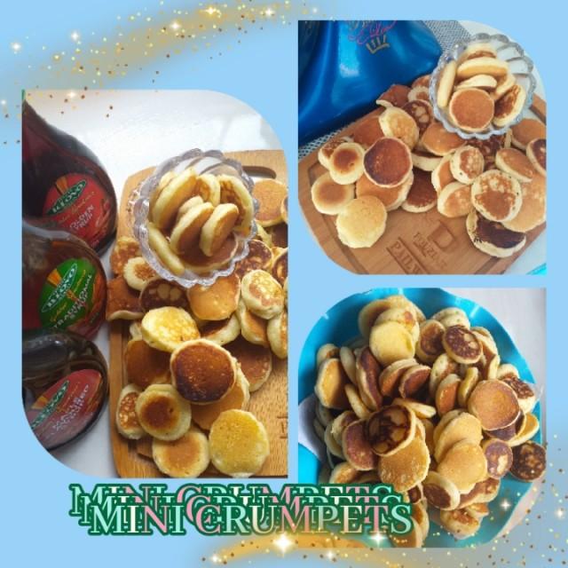 Mini Crumpets