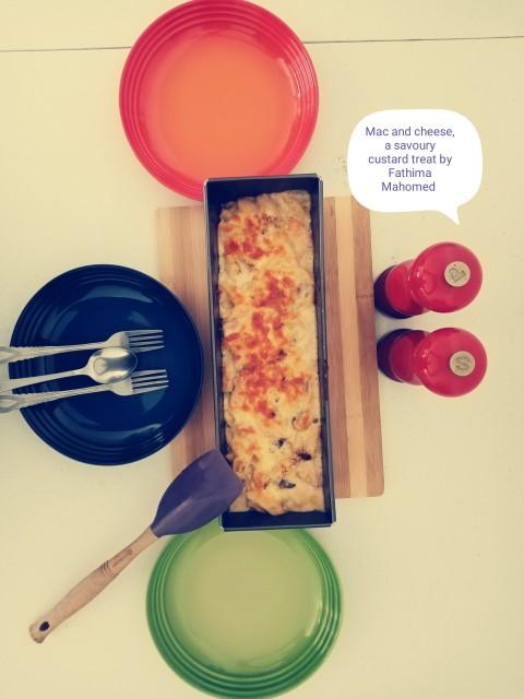 Mac And Cheese, A Savoury Custard Treat