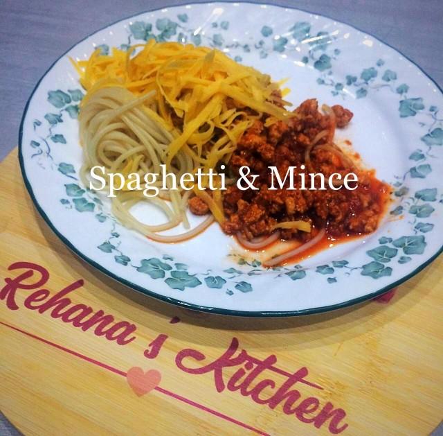 Spaghetti And Mince