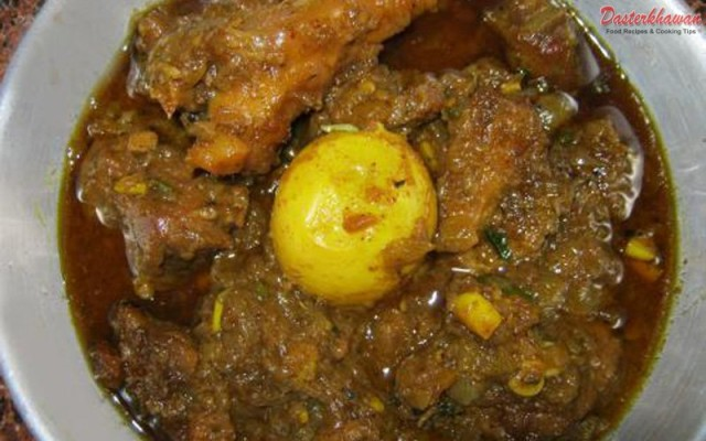 Mutton Egg Masala