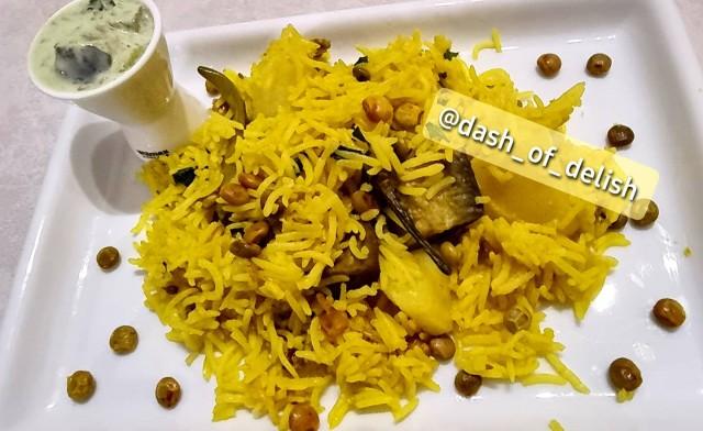 Spicy Vegetable Khichri