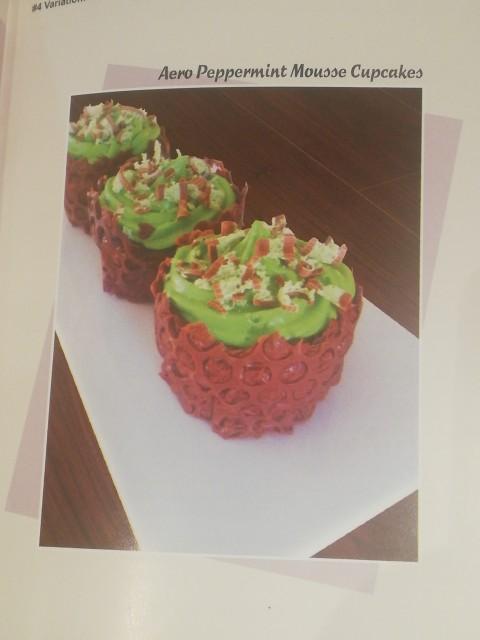Aero Peppermint Mousse Cupcakes