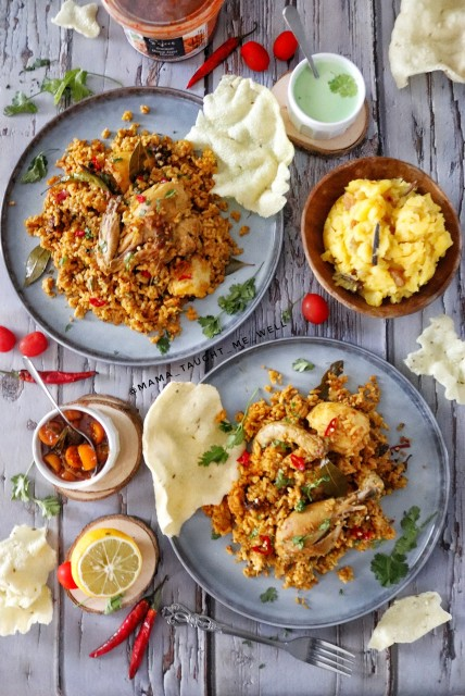 Memon Chicken Akni