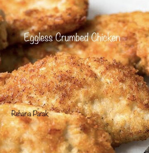 Eggless Crumbed Chicken