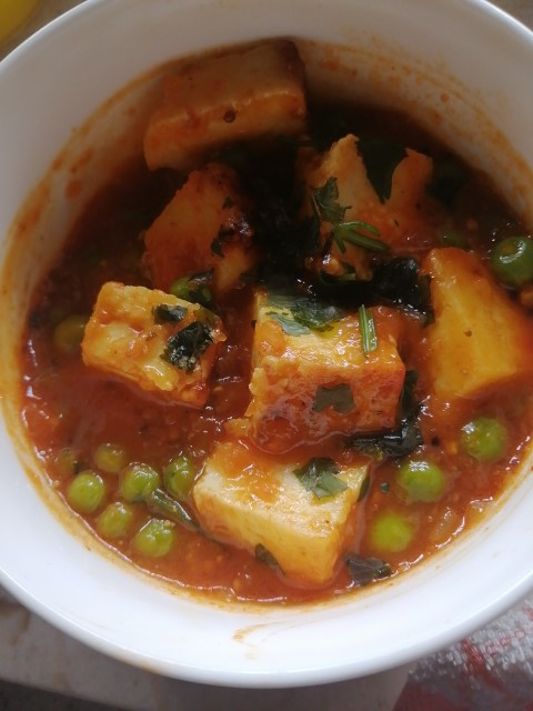 Paneer Tomato  Gravy Curry